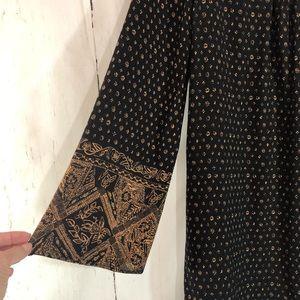 Forever 21 Tops - FOREVER 21 | Black & Brown Boho Tunic Dress Small